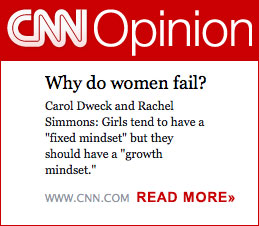 Growth Mindset CNN Article Link