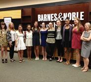 Students at Barnes & Noble Reading