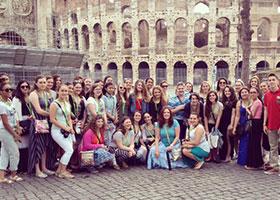 AHA Italy-trip