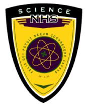 Science National Honor Society Logo