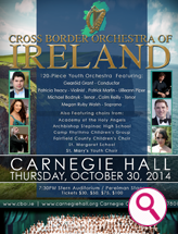 Cross Border Orchestra Ireland Poster