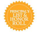 Honor Roll & Principal's List